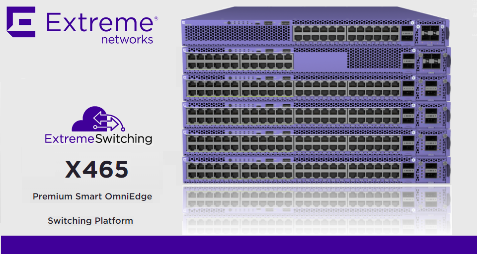 Extreme Networks X465